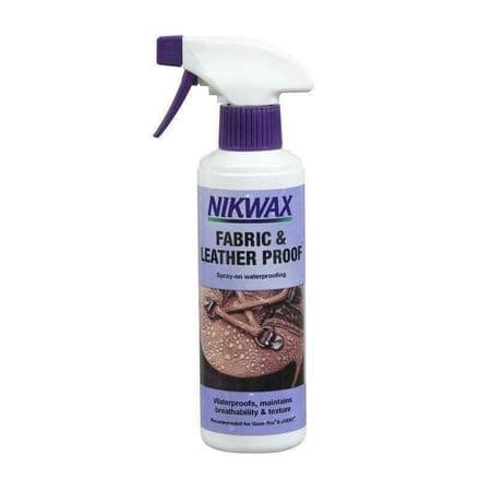 Nikwax Fabric and Leatherproof Waterproof Spray Large